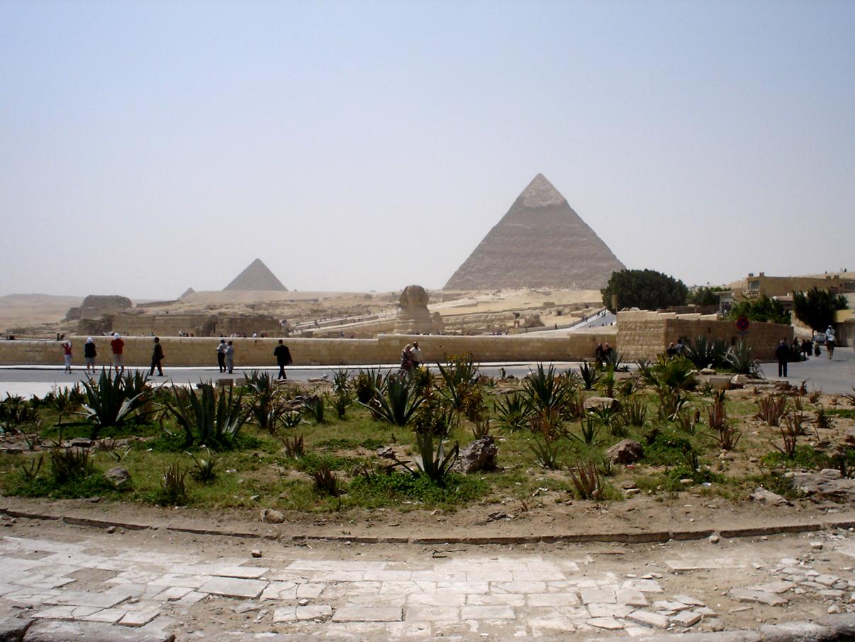 Pyramiden-Gizeh
