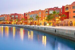 Hafen in Hurghada