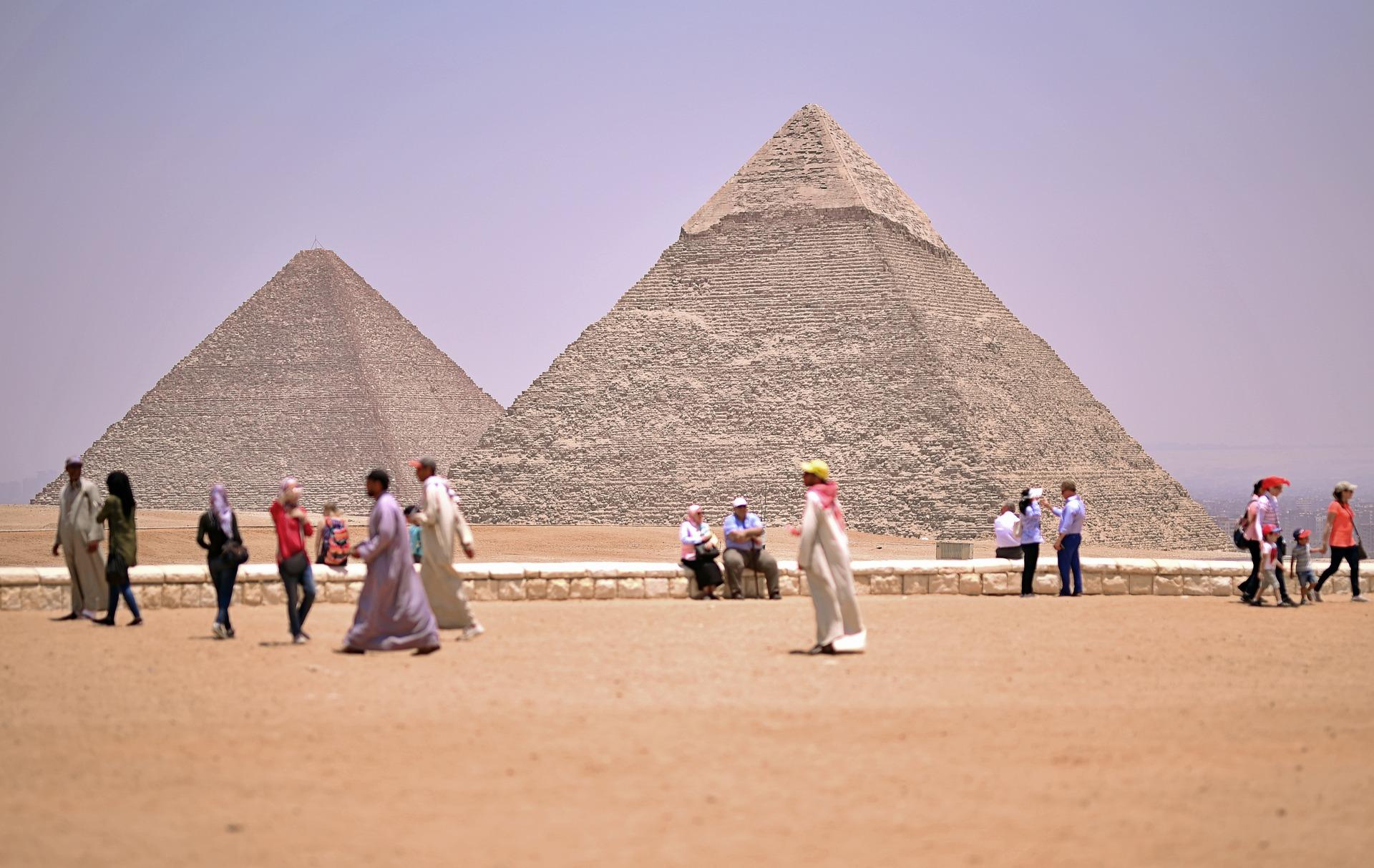 Pyramiden Gizeh