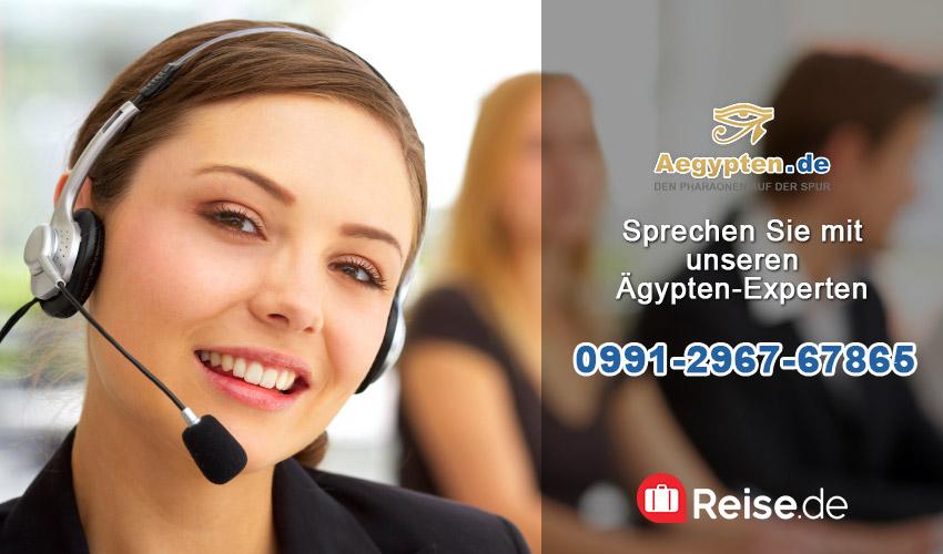 Kostenlose Reise-Hotline Ägypten